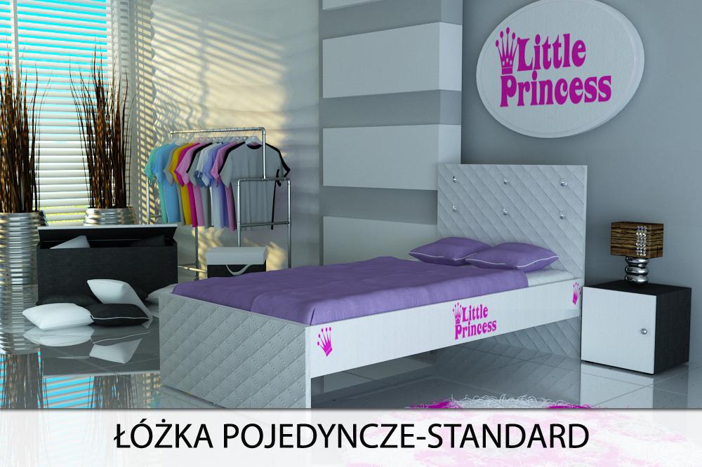 łóżko dla dziecka, łóżko dziecięce